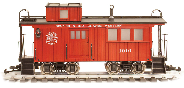 Denver and Rio Grande Western Drovers Caboose