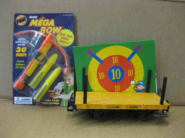 Target Toy Trains : Lehmann toy train target car
