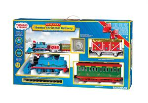 Thomas the Train Christmas Delivery Bachmann Train Set