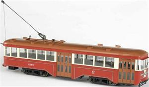 Bachmann Peter Witt Trolley - Chicago Surface Lines